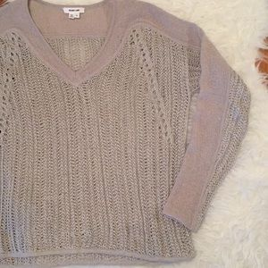 Helmut Lang Crochet Sweater